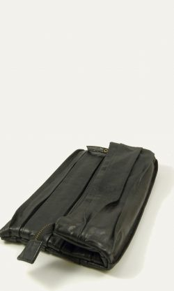 Lounge Kid Leather Foldover Clutch