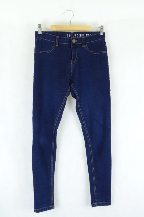 Cotton On Blue Skinny Jeans 10