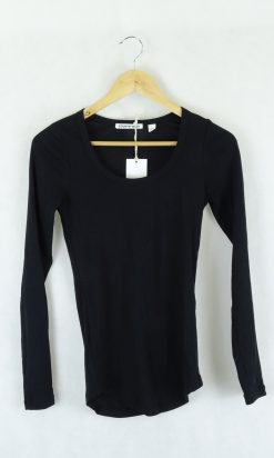 Country Road Black Long sleeve Top xs