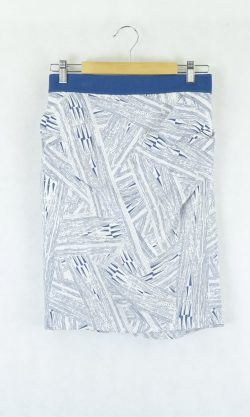 Willow Blue and White Skirt 10