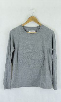 Country road grey jumper XS