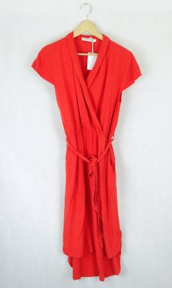 Atmos & Here Red Dress 10