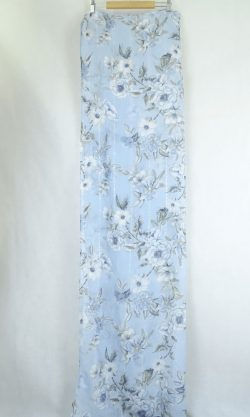 Forever New blue patterned scarf