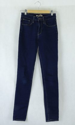 Levi's High Rise Skinny Jeans 26