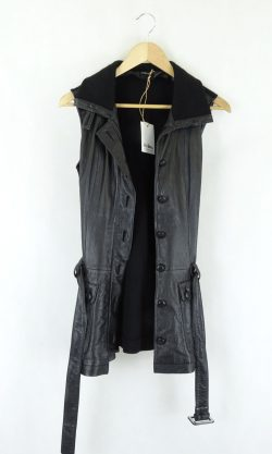 Ping-Pong Leather Vest 14