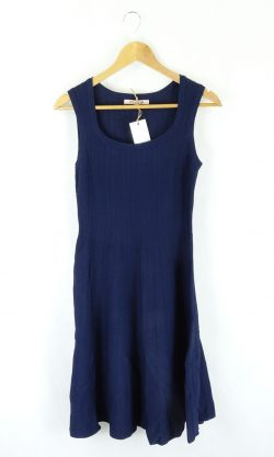 Review Navy Knit Dress 6