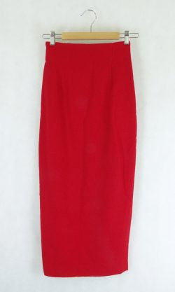 Vintage Style Red Skirt 36