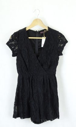 Ally Fashion Black Lace Playsuit 8