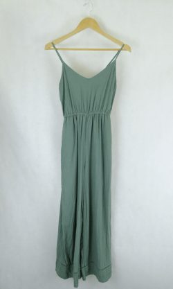 Piping Hot Green Jumpsuit 8