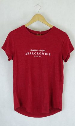Abercrombie & Fitch Red T-Shirt M