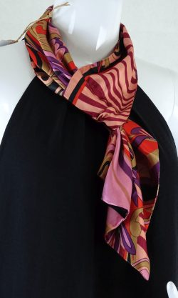 Multicoloured Pink Scarf